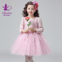 Puppchen vestidos wedding dress baby girls clothes carnival costumes children clothing princess sequins dresses for girls kids