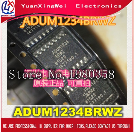 Freies verschiffen 20 teile/los ADUM1234BRWZ ADUM1234BRW ADUM1234