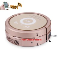 WiFi Smartphone App Control Household Cordless Vacuum Cleaner Robot With Air purifier,150ml water tank,3350MAH Lithium battery