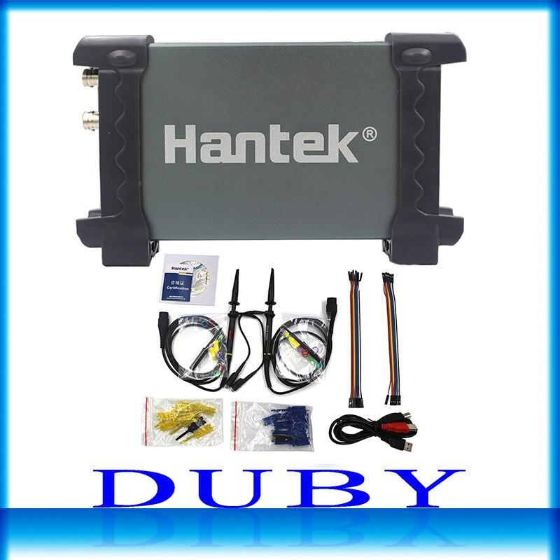 Hantek 6022BL PC USB Oscilloscopes Digital Portable 2Channels 20MHz Bandwidth Osciloscopio Portatil 16Channels Logic Analyzer