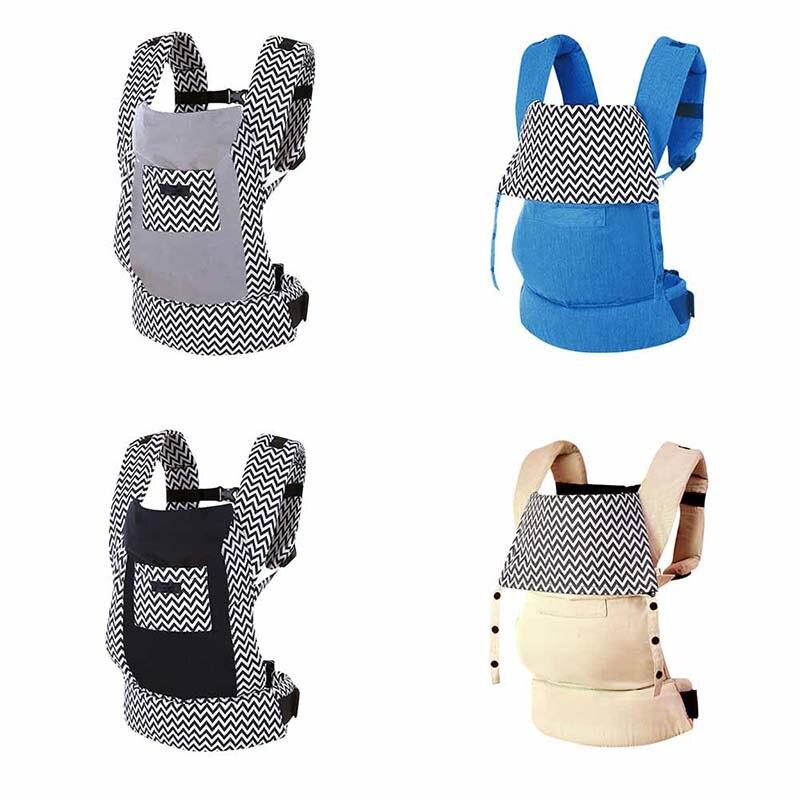 Porte-bébé ergonomique en coton bio réglable pour nouveau-né porte-bébé Portable multifonctionnel pour enfant