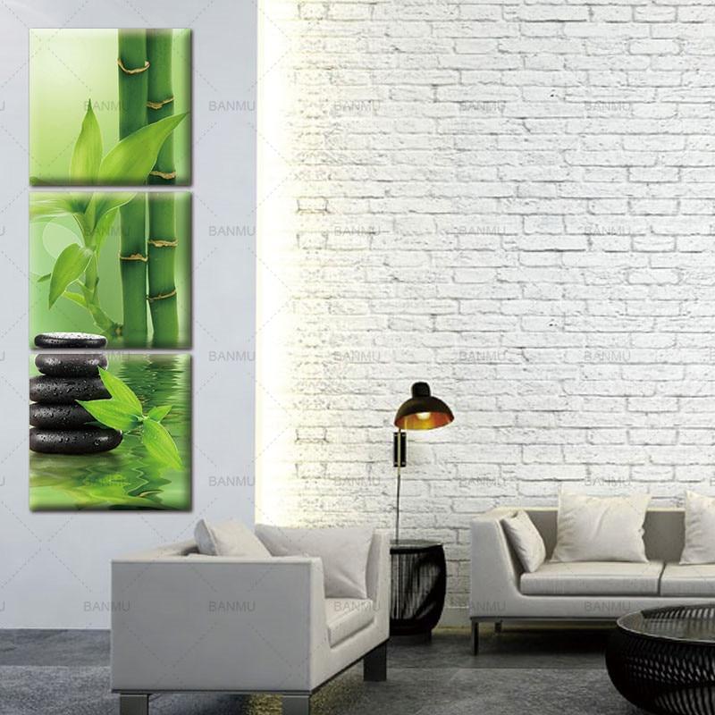 3 панел Wall Art платно боядисване стена - Декор за дома - Снимка 6