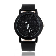BAJEETA New Fashion Simple Style Women Watch Casual Quartz Leather Student Watch Men Hot Sale Analog