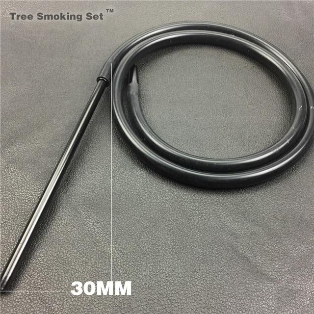 1pc 1.8m Aluminum Handle mouthtips Shisha Hookah Hose Silicone Hose hookah Pipe Tubes Tools Shisha Hookah Bowl Shisha Pipe Tubes
