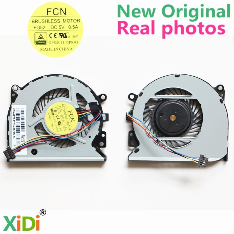 NEW Original CPU FAN FOR HP 15-U 15-u111dx TPN-Q147 CPU COOLING FAN 776213-001 779598-001 new original cpu cooling fan for hp cq43 430 431 435 436 646180 001 dfs551005m30t brand new original independent video card