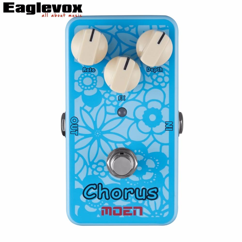 Moen Chorus Electric Guitar Effects Effect Pedal AC-CH True Bypass
