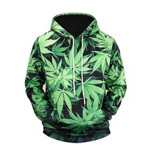 Weed Leaf Hoodie Hoodies Men Women 2019 New Fashion Autumn Sportswear Tracksuit Casual Pullovers Hooded Sweatshirt Dropship