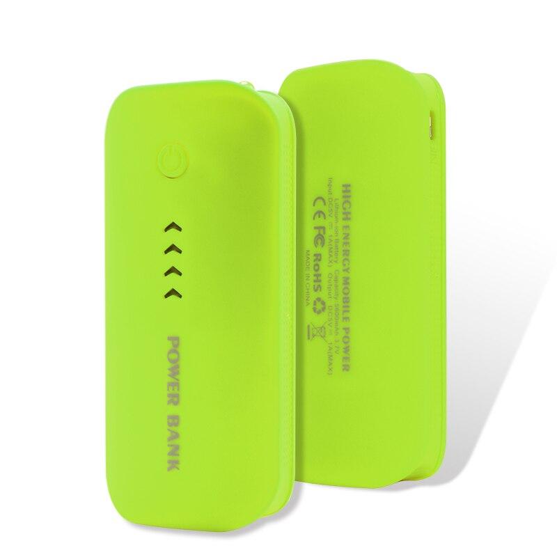 Power Bank Real 5600mah USB External Mobile Backup Powerbank Battery for iPhone iPod iPad mobile Phone Universal Charger