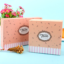 10pcs/lot Cute Pastoral Style Thanks Flowers Paper Bag Kraft paper Decoration Multifunction Gift Bags