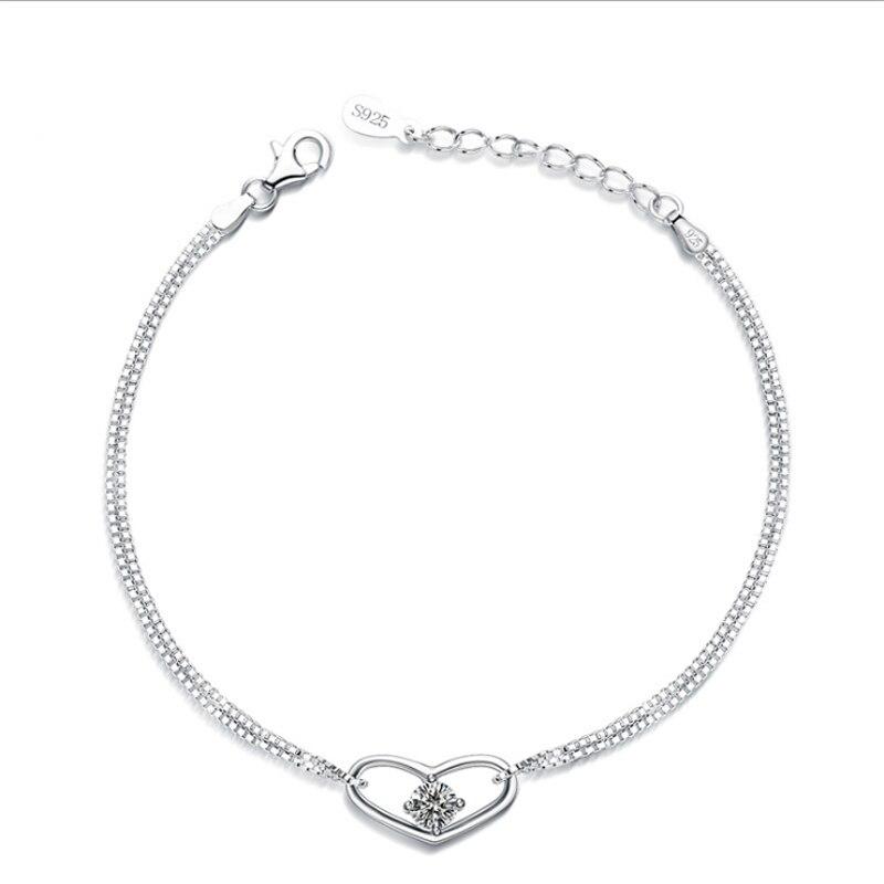 HB0 para NLNL Classic Engagement pulsera clásico atemporal mujeres y hombre amantes de la joyería