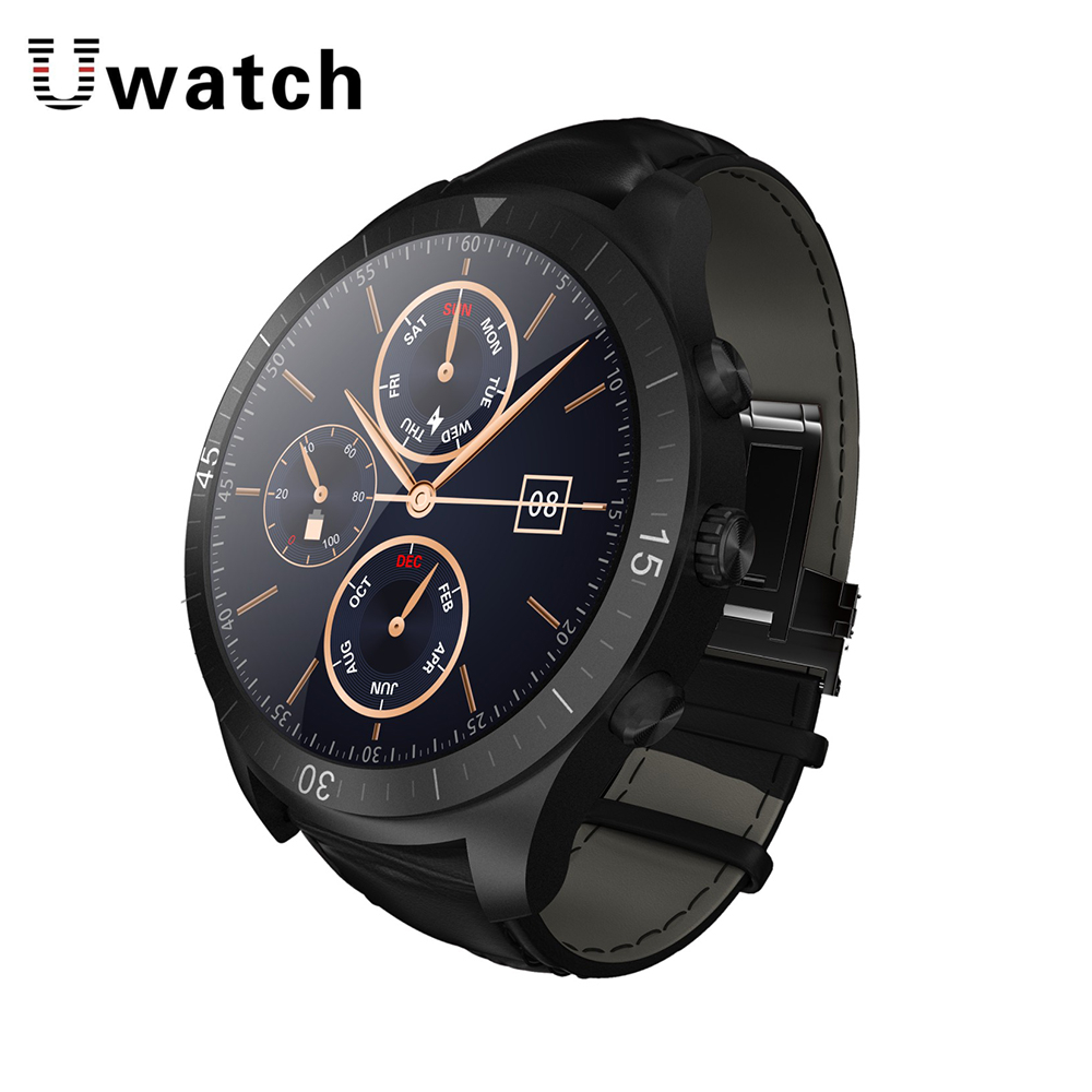 Uwatch UW23 MTK6572 1.2GHz Android Smart Watch 450mA Battery 512M+4GB Bluetooth 4.0 Smartwatch Dynamic Heart Rate Monitor Health ux uwatch bluetooth 3d magsensor android iphone