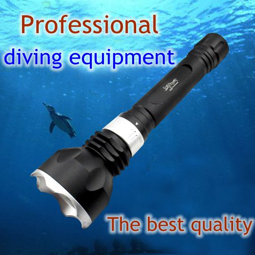 High quality underwater diving torch L2 led diving flashlight waterproof Hunting camping T6 tactical flashlight lamp