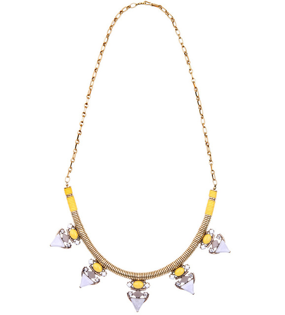2016 New Fashion Brand S Designer Jewelry Dot Long or Short Gold Pop Yellow and Tube and Geometric Triangle Pavilion Necklace