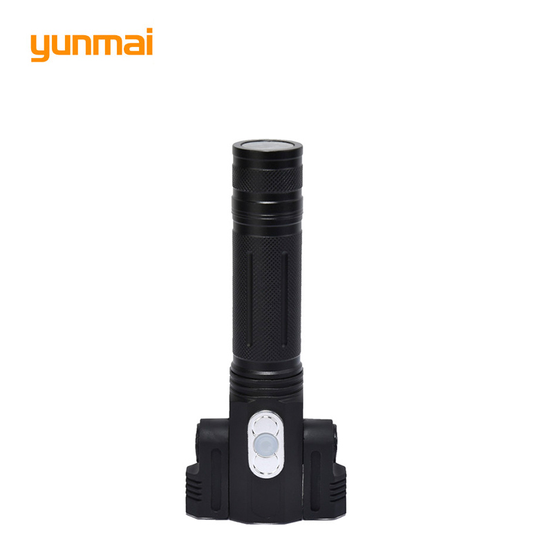 3800LM Cree xml t6+2Q5 Flashlight Powerful Led Torch Rechargeable Lanterna Flash Light use 18650 Battery for camping hiking