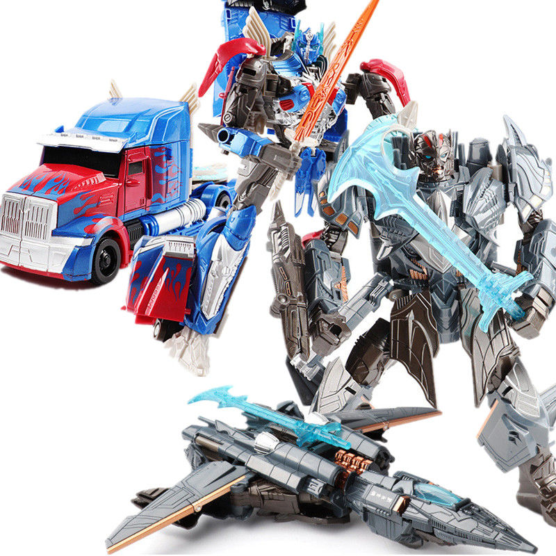 JINJIANG 18 cm Altezza Trasformazione Deformazione Robot Giocattolo Action Figures Toy due stili con la scatola originale