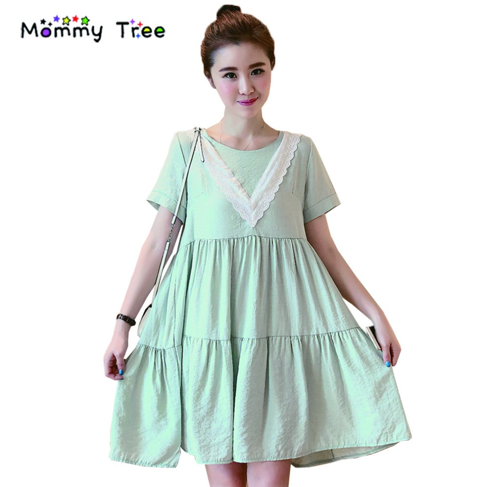 Online get cheap summer pregnancy clothes aliexpress fashion v neck linen cotton a line maternity dresses for pregnant women summer pregnancy ombrellifo Gallery