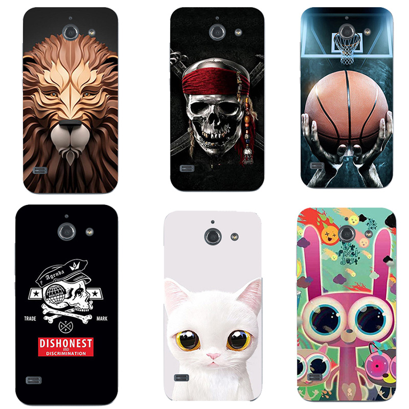 For Huawei Ascend Y550 Printed Case Luxury Hard Plastic Drawing Phone Shell For  Huawei Y 550