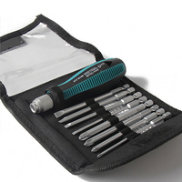 9Pcs Set Precision Screwdriver Set 1 4 6 35mm Phillips Slotted Bits With Magnetic Multitool Home