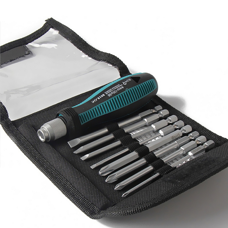 9Pcs/set Precision Screwdriver Set 1/4