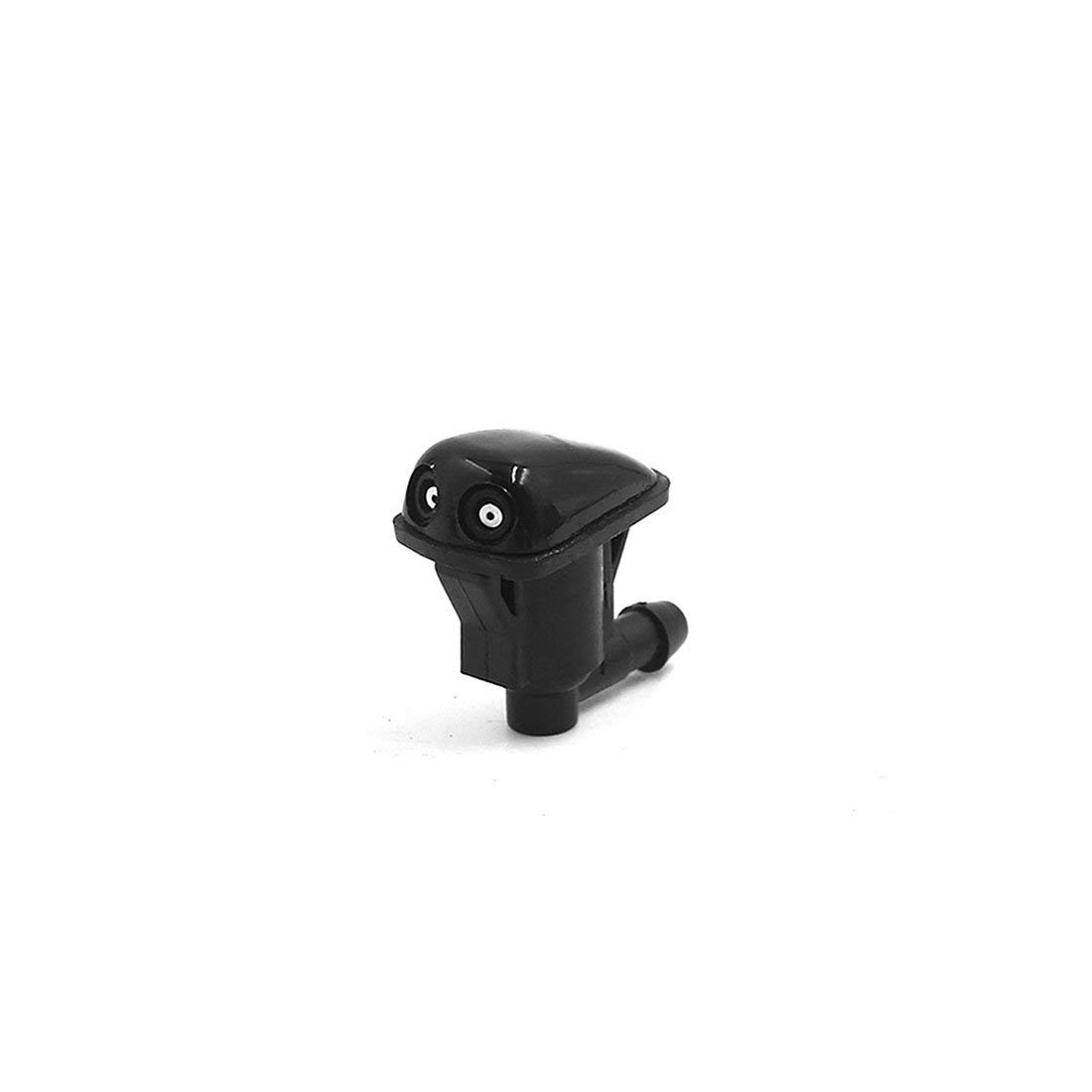 MITSUBISHI WATER SPRAY JET WASHER NOZZLE BLACK FOR FRONT WINDSHIELD