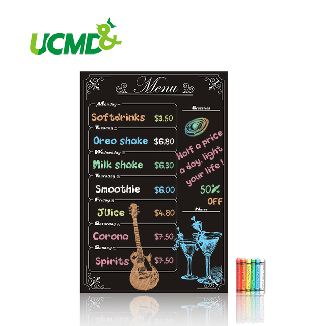 Aliexpress.com : Buy Wall Sticker Chalkboard Blackboard Stickers ...