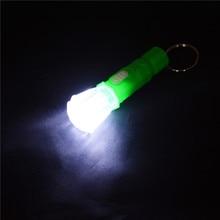 Colorful Mini Electronic Small Transparent Plastic Flashlight Model Toys Flash Light Funny Games