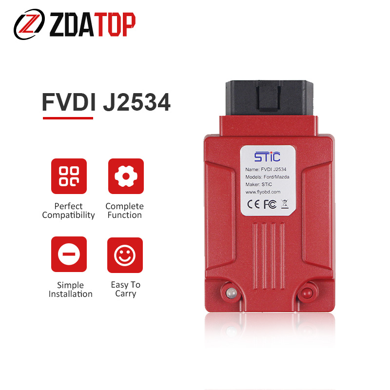 Professional FVDI J2534 Diagnostic Tool forMazda for F ord IDS for VCM Better than ELS27 ELM327