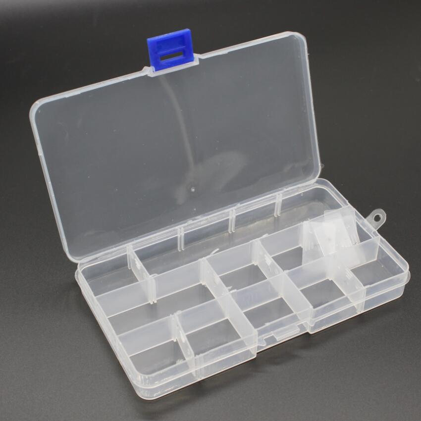 Toolbox Electronic Plastic Container Box for Tools Case SMD SMT Screw Sewing PP Transparent Component Storage Box
