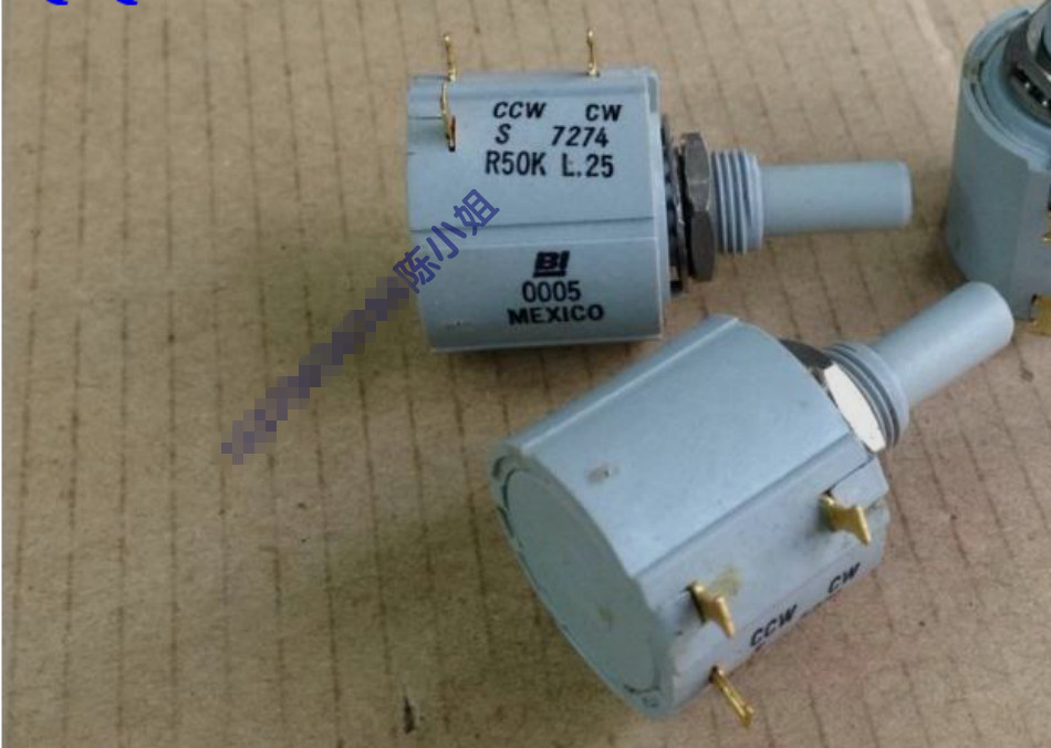 Original new 100% Mexico multiturn potentiometer resistance 7274-R50K 50K + 10% ten turn potentiometer (SWITCH) куртка fladen saltwater