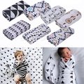 Muslin Cotton Newborn Baby Swaddle Blanket Bedding   Infant Crib Bedding Covers Sleeping Blanket