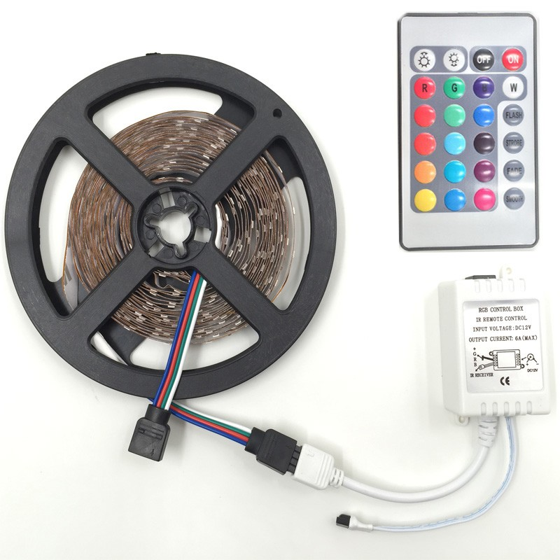White Warm white Bule Yellow Red Green 5m RGB 3528 2835 LED strip light tape diode 300leds non waterproof (3)(1)