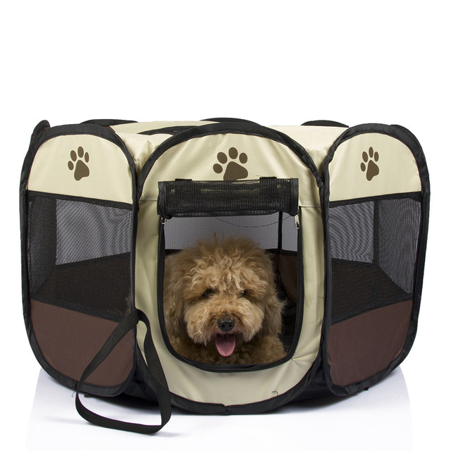 TECHOME Pet Tent Portable Playpen Dog Folding Crate Doghouse Puppy Pen Soft Kennel New Cat Cage  sc 1 st  AliExpress.com & TECHOME Pet Tent Portable Playpen Dog Folding Crate Doghouse Puppy ...