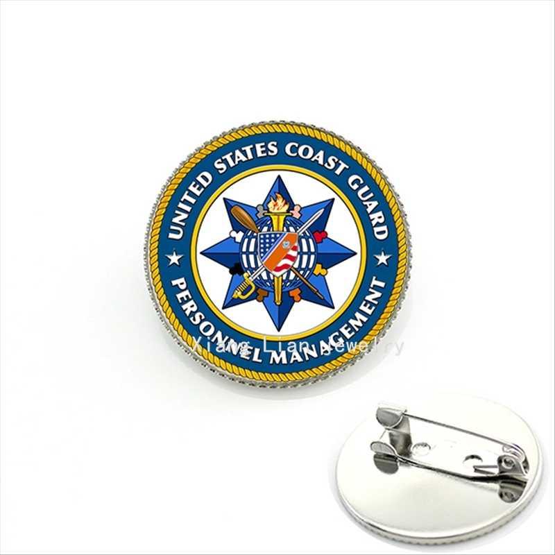 Mempesona Souvenir Hadiah Militer Bros Delapan Bintang Amerika Serikat Penjaga Gambar Perhiasan untuk Pria Ulang Tahun MI023