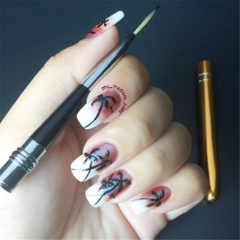 Luxury Gold Nail Art Pen Frieze - Nail Art Ideas - morihati.com