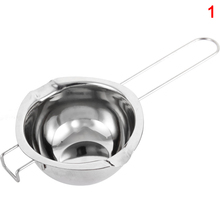 1pc Hook Design Stainless Steel Bowl Butter Chocolate Melting Pot Heating Spoon Pan Hot Sale