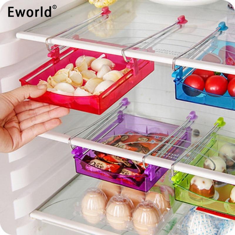 Eworld Pelbagai guna Kreatif Peti simpanan Penyimpanan Fresh Spacer - Organisasi dan penyimpanan di dalam rumah - Foto 1