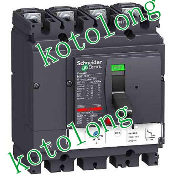 Compact NSX100R TMD 4P LV433205 4P 63A  LV433207 4P 80A LV433209 4P 100A mitsubishi 100% mds r v1 80 mds r v1 80