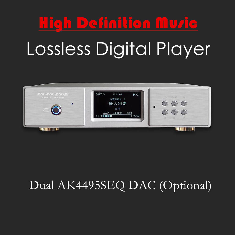 Nobsound Digital Turntable HiFi Lossless Audio Music Player AK4495 DAC Decoding DSD/SACD все цены