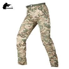 Military Men's TAD Tactical Quick Drying Pants Camouflage Removable Trouser Legs Combat Pant Men Training Pants BFPLY36