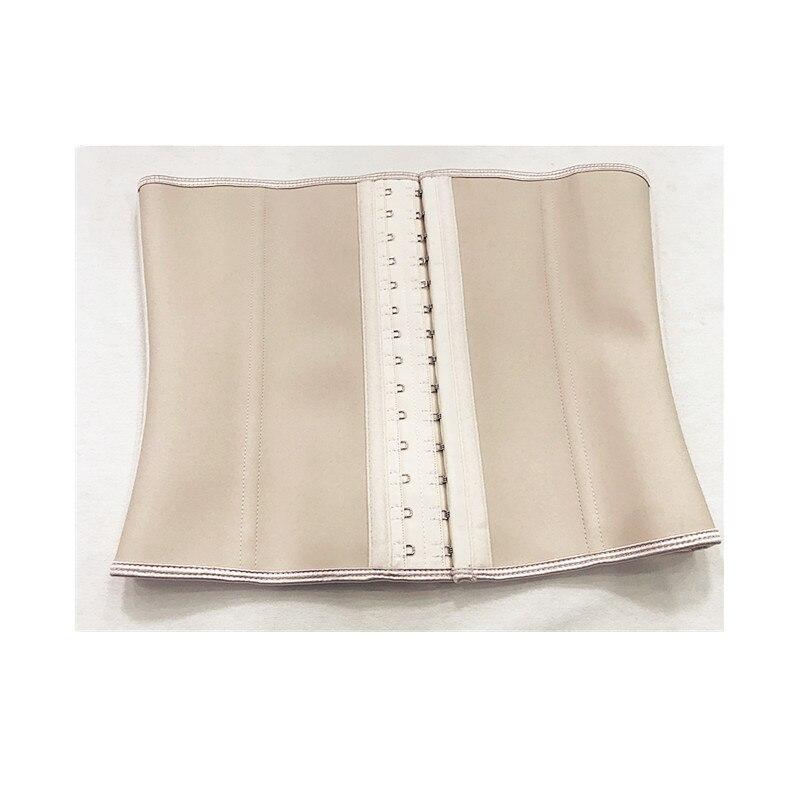 87b9ab271 Popular Ann Chery 3 hooks 9 Steel Boned Slimming Latex Corset Waist Trainers-in  Tops from Underwear   Sleepwears on Aliexpress.com
