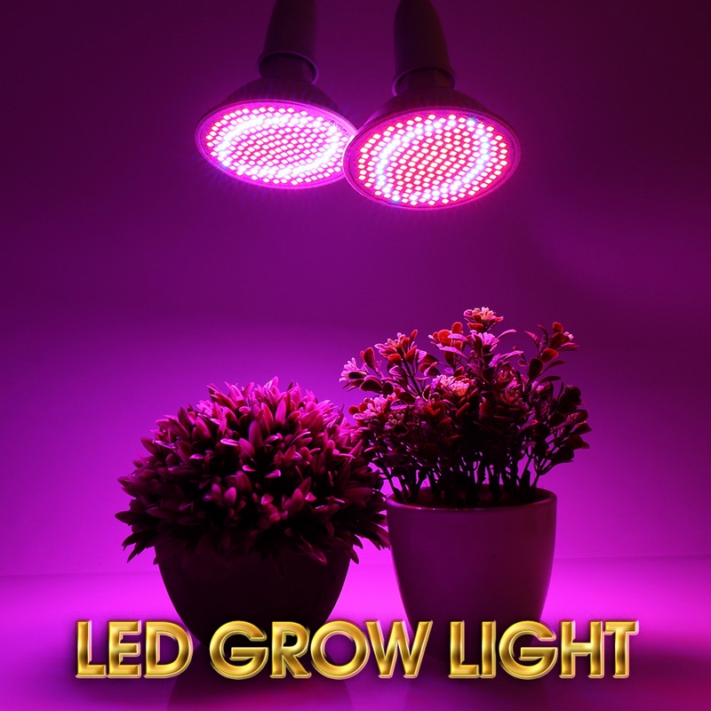400 LEDs Grow Light Long Lifespan Led Grow Light E27 Base Flexible Lamp Holder Clip Plant Growth Light For Indoor Desktop Plants