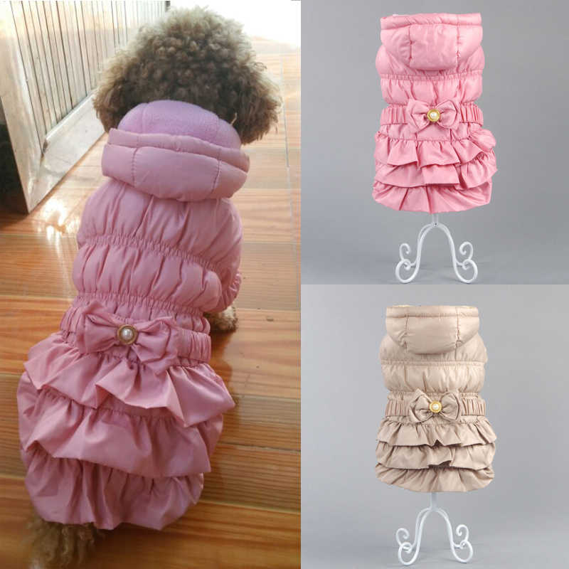 Winter Warm Pet Clothes for Small Large Dogs Luxury Dog Coat Jacket Puppy Clothing Chihuahua Pug Yorkies Hoodies Pets Products