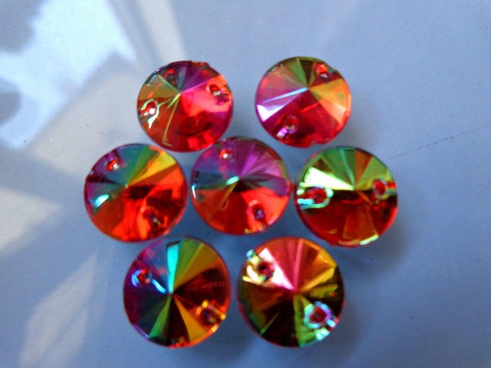 Feitas à mão cristais vermelhos guarnição patches