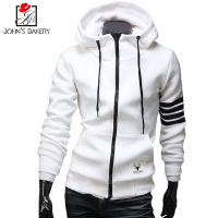 John SBakery New Fashion Men Hoodies Brand Leisure Men Hoodie Sweatshirts Casual Zipper Hooded Jackets Male
