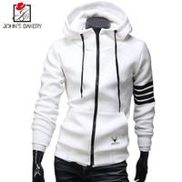 John SBakery New Fashion Men Hoodies Brand Leisure Men Hoodie Sweatshirts Casual Zipper Hooded Jackets Male