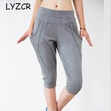 Elastic Waist Harem Plus Size Capris Pants Women 6XL 7XL Sum