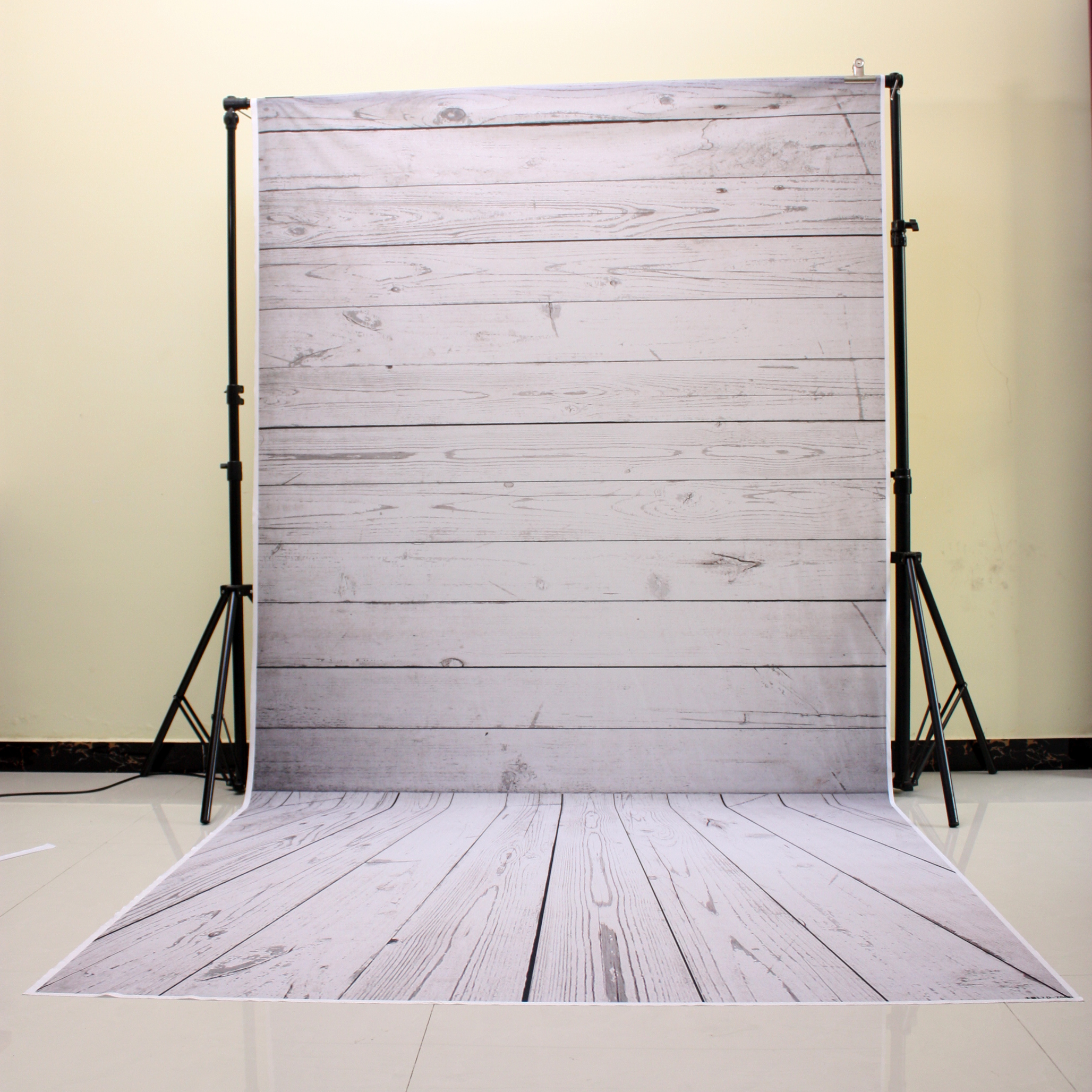 Grey White Photography Backdrops Thin Vinyl Backdrops For