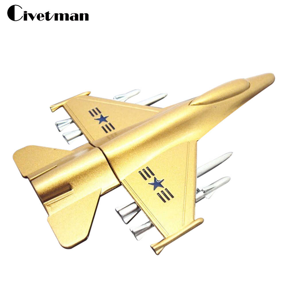 New Metal USB Flash Drive Plane Airplane Model Pendrive 8GB 16GB 32GB 64GB 128GB USB 2.0 Memory Stick Handsome Fighter Pen Drive
