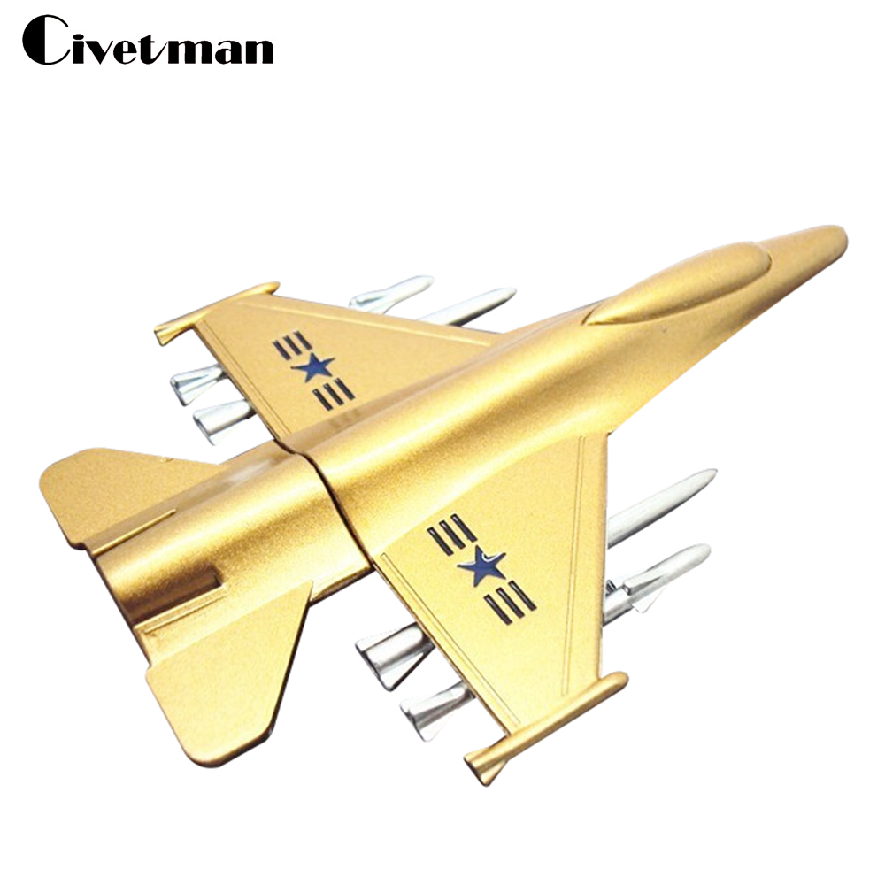 New Metal USB Flash Drive Plane Airplane Model Pendrive 8GB 16GB 32GB 64GB 128GB USB 2.0 Memory Stick Handsome Fighter Pen Drive