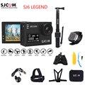 """Mais novo 100% original sjcam sj6 lenda 2.0 """"touch screen 4 k remoto 30 m à prova d' água esportes de ação da câmera de mergulho mini dvr"""